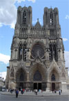 Reims cathedrale, France