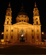 The St. Stephen's Basilica, Budapest