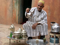 The Moroccan tea