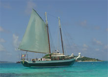 Cruise on the Scaramouche, Grenadines